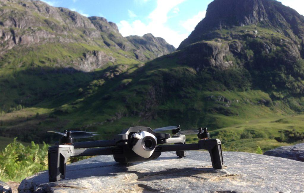 erste Erfahrungen mit der Anafi-Drohne